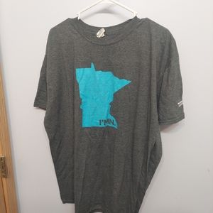 Minnesota state lottery I'm in gray t shirt 2xl